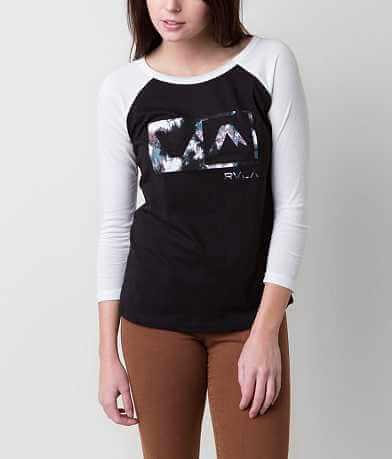 RVCA Blurred Rose T-Shirt
