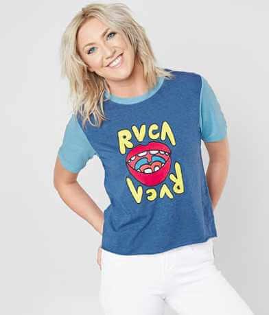 RVCA Flip Lips T-Shirt
