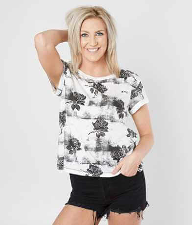 RVCA Oblovers Roses T-Shirt