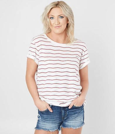 RVCA Striped T-Shirt