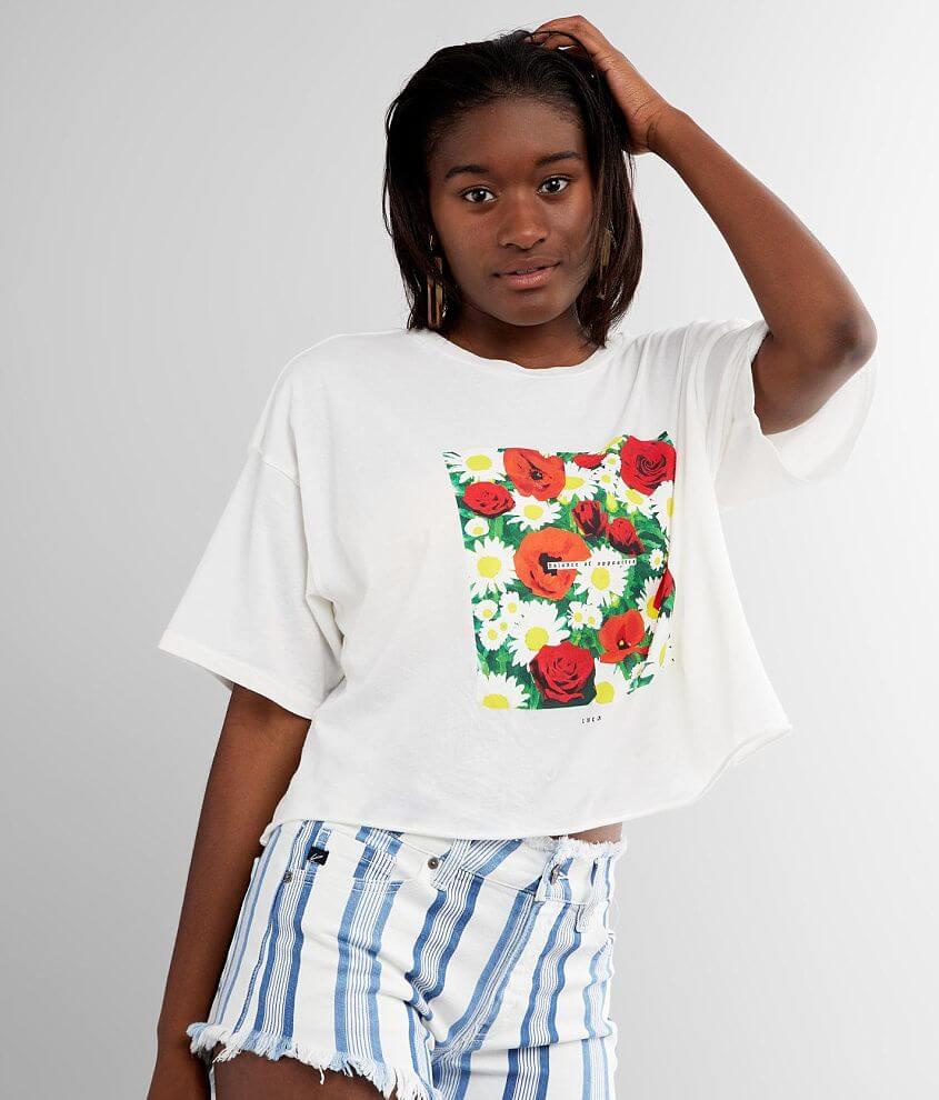 RVCA Super Bloom T-Shirt front view