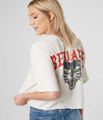 RVCA Beware Cropped T-Shirt