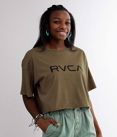 RVCA Big Cropped T-Shirt