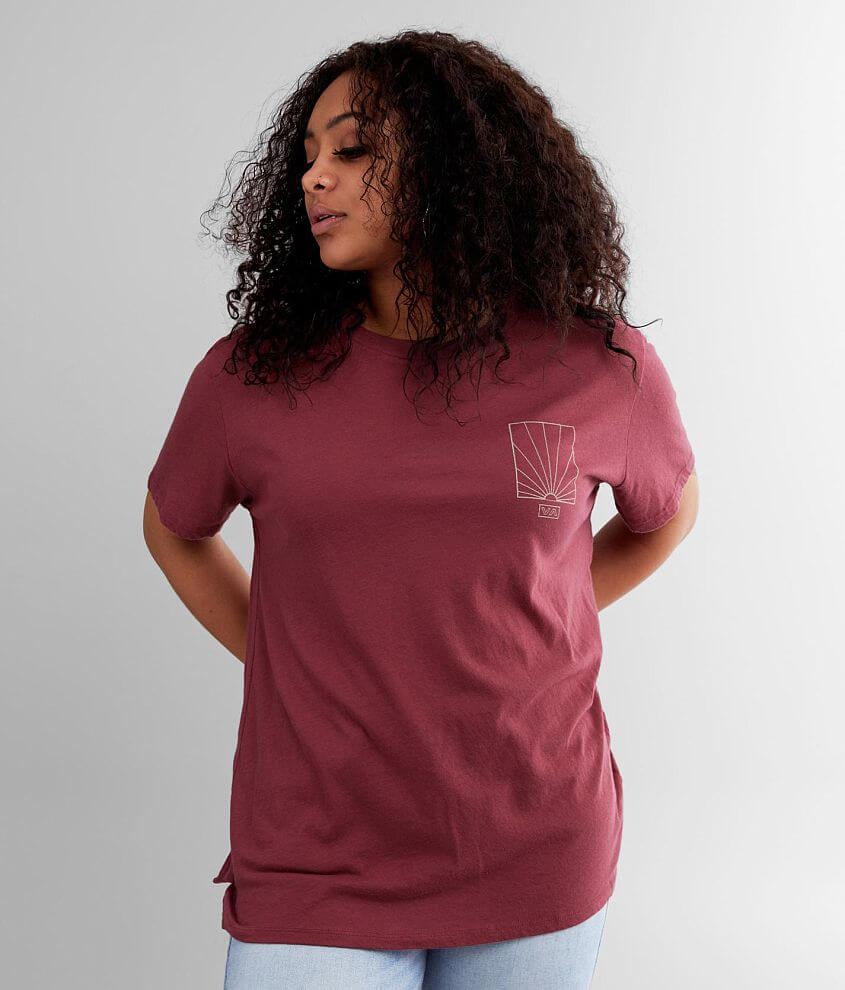 RVCA Sunrise T-Shirt front view
