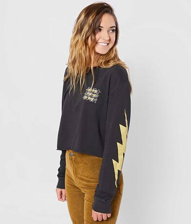 RVCA Voltage Cropped T-Shirt