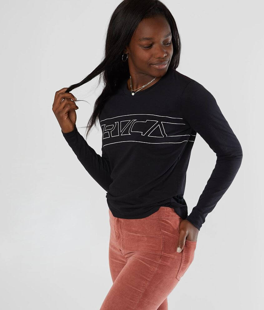 RVCA Boxy T-Shirt front view