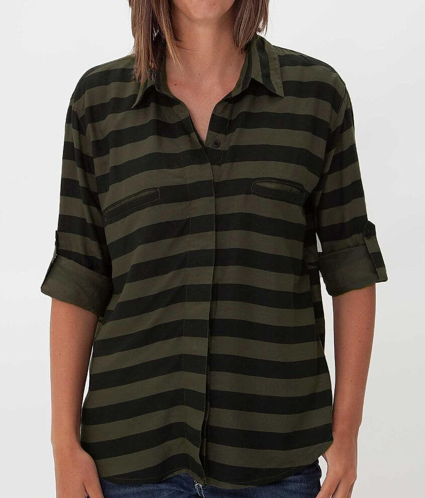 RVCA Talons Shirt front view