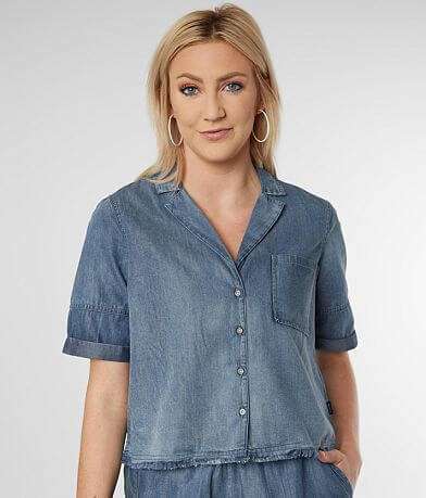 RVCA Inner Thoughts Denim Shirt