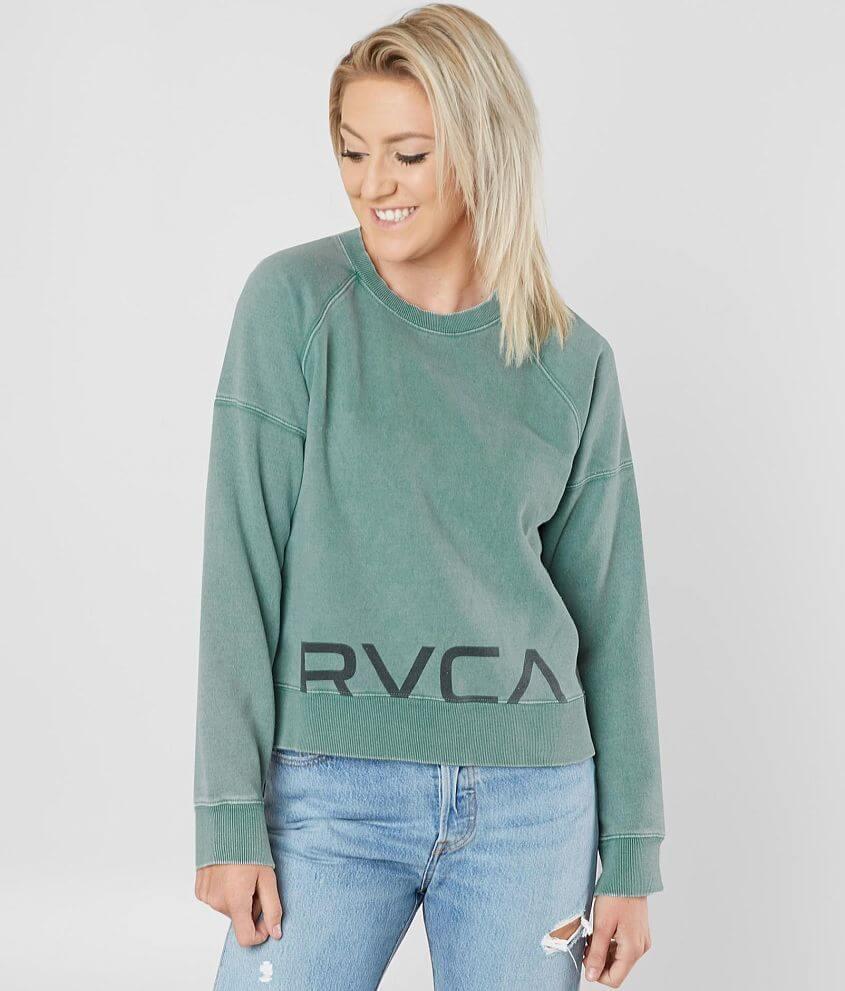 RVCA Splits Shade Sweatshirt front view