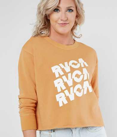 RVCA Slice Cropped Sweatshirt