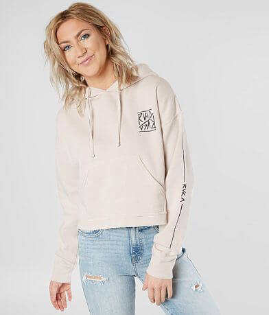 RVCA Flipped Pullover Hooded Sweatshirt