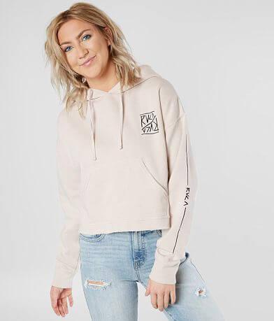 RVCA Flipped Pullover Hooded Sweatshirt
