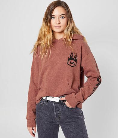 RVCA Forged Flames Hooded Sweatshirt