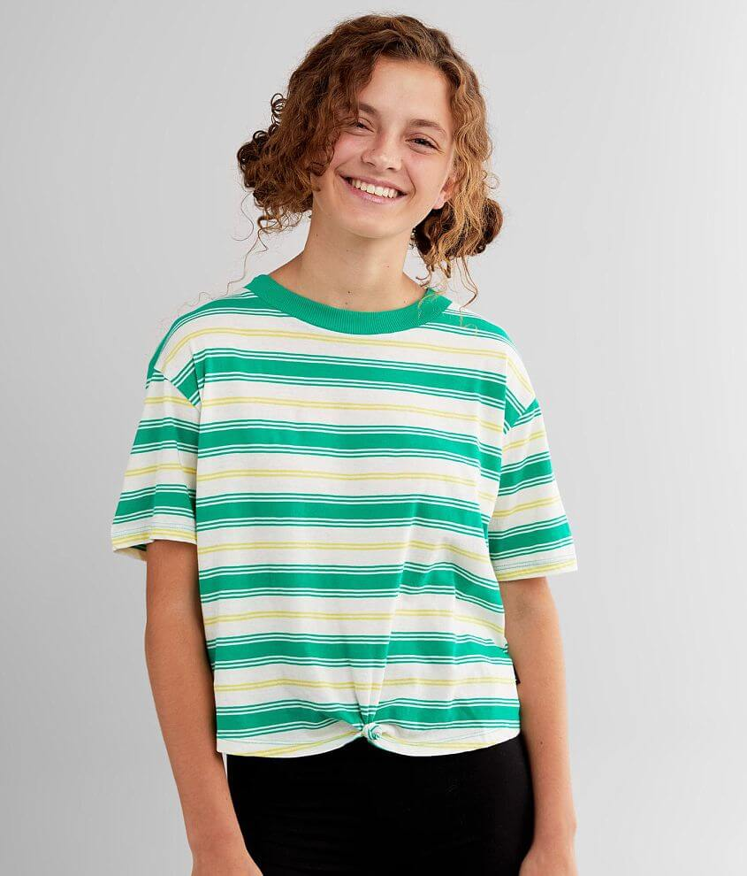RVCA Radley Front Knot T-Shirt front view