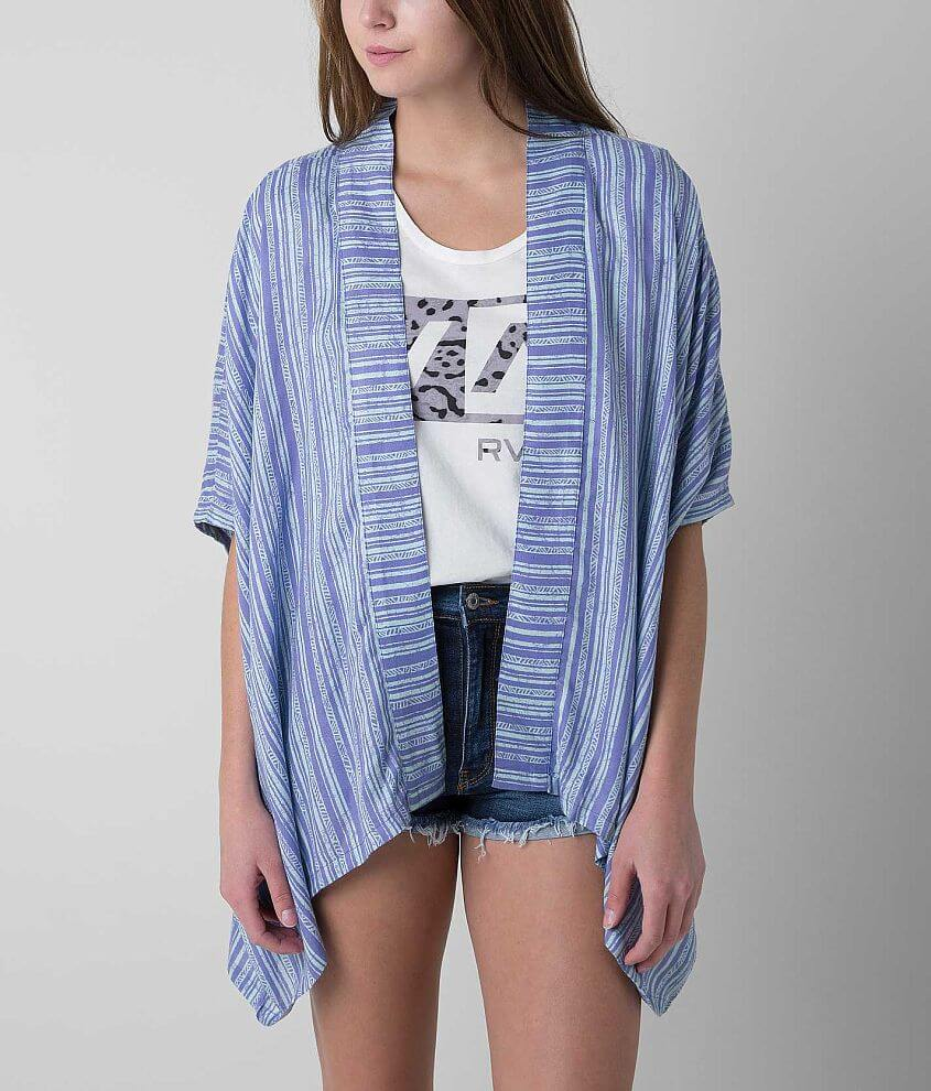 RVCA Woo Would Cardigan front view