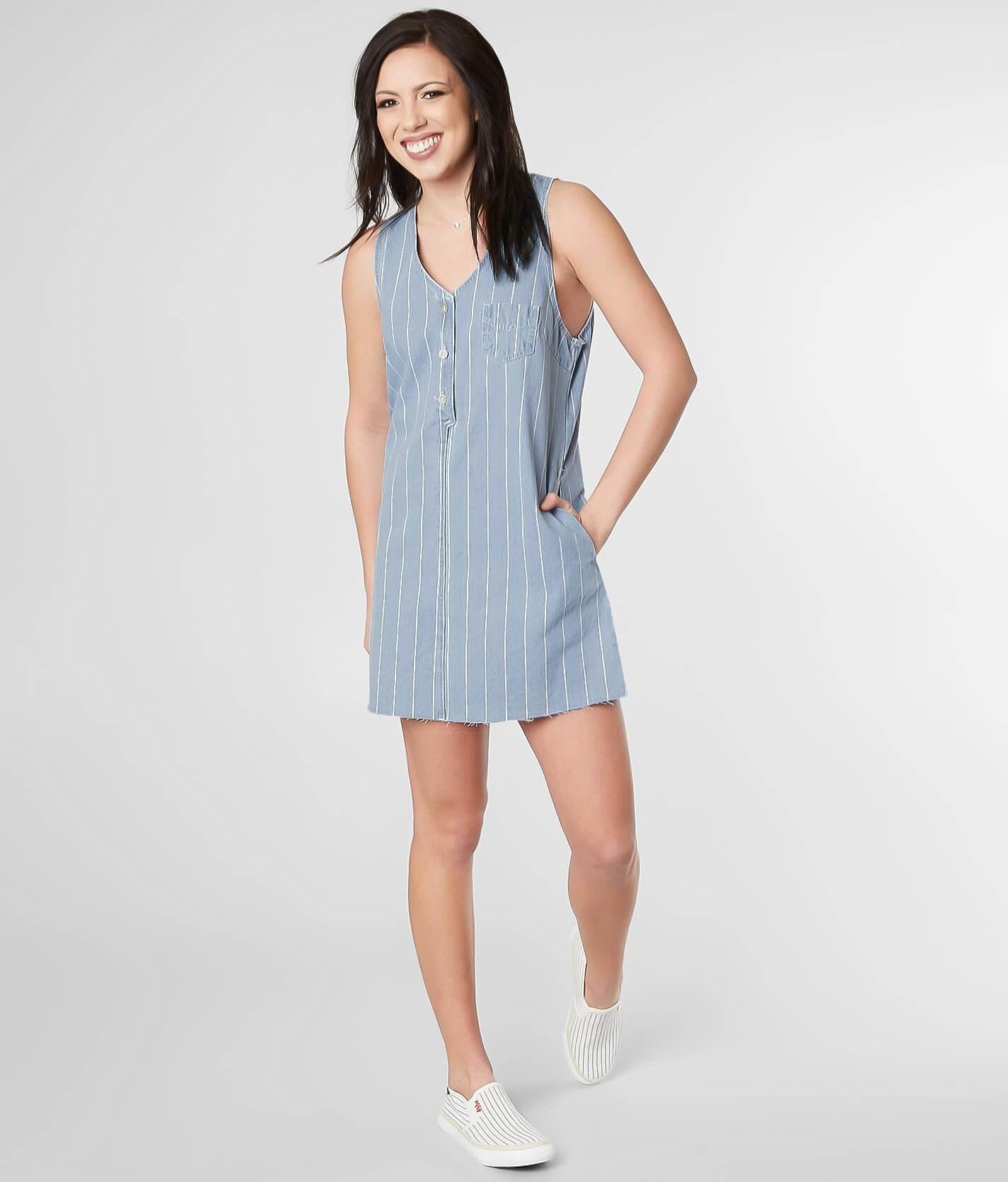 Denim Sleeveless Dress