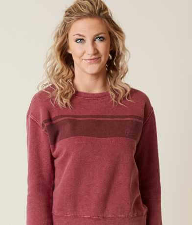 RVCA Stripe Wash Sweatshirt
