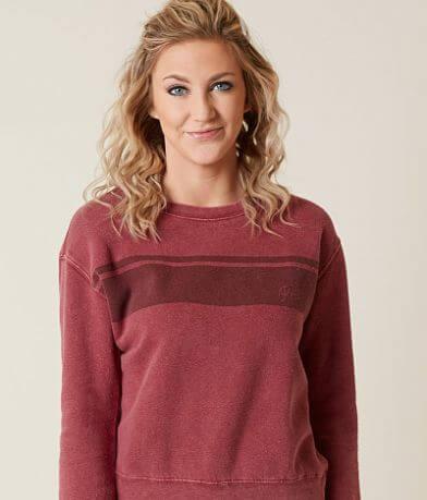 RVCA Stripe Wash Sweatshirt