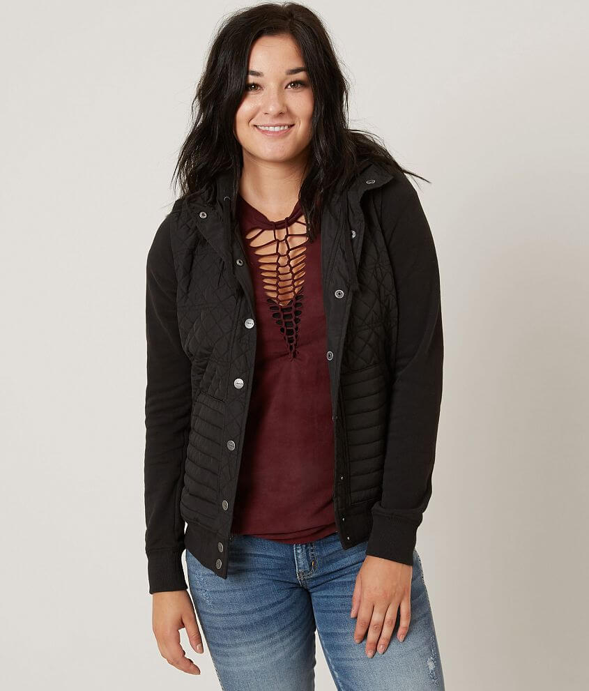 RVCA Unlabel Jacket front view