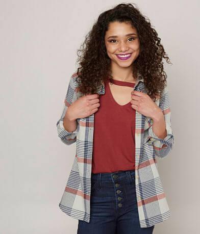 RVCA Jig Flannel Shirt