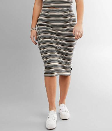 RVCA Pick Me Up Pencil Skirt