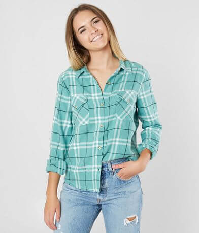 RVCA In A Haze Flannel Shirt