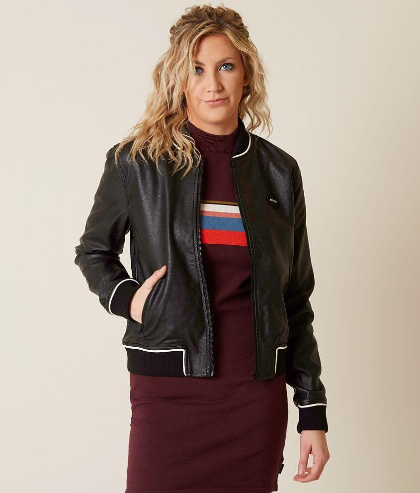 78f2a0ab RVCA Slow Jam Jacket - Women's Coats/Jackets in Black | Buckle