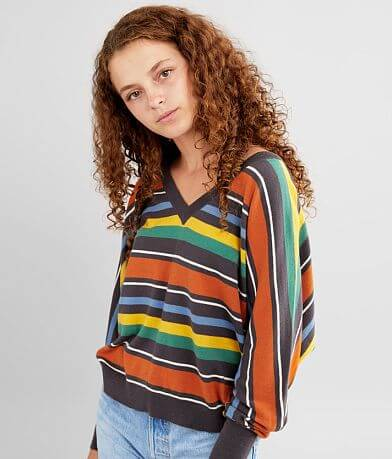 RVCA Carter Striped Sweater