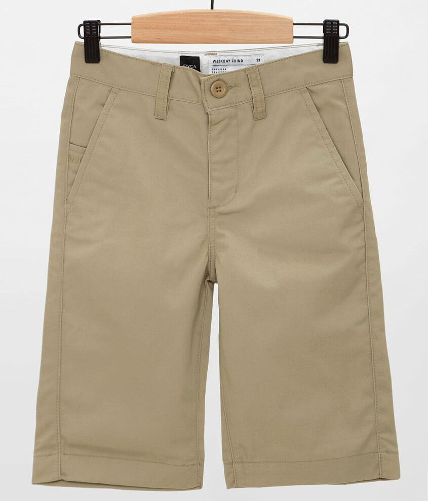 Boys - RVCA Weekday Short front view