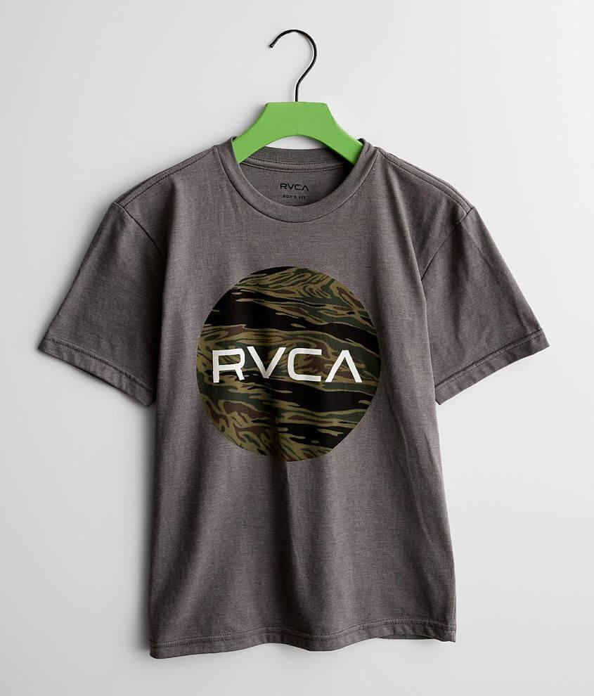 Boys - RVCA Motors Fill T-Shirt front view