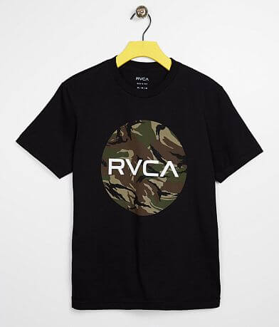 Boys - RVCA Motor Fill Camo T-Shirt