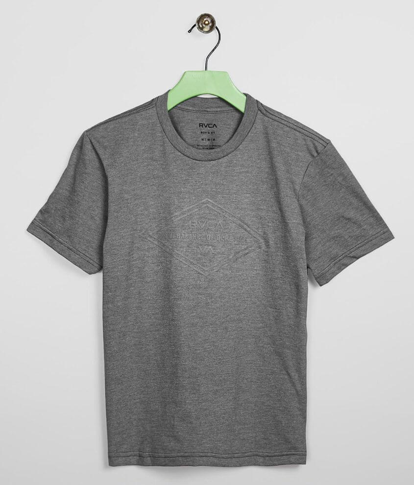 Boys - RVCA Structure T-Shirt front view