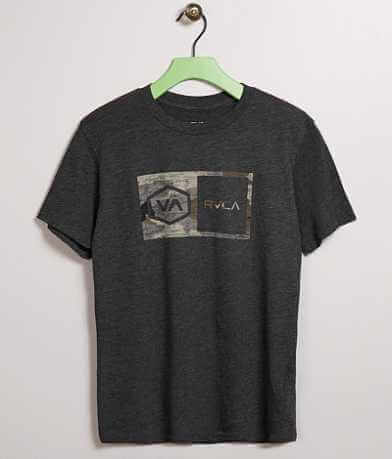 Boys - RVCA Hex Camo T-Shirt