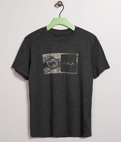 Boys - RVCA Hex Camo T-Shirt