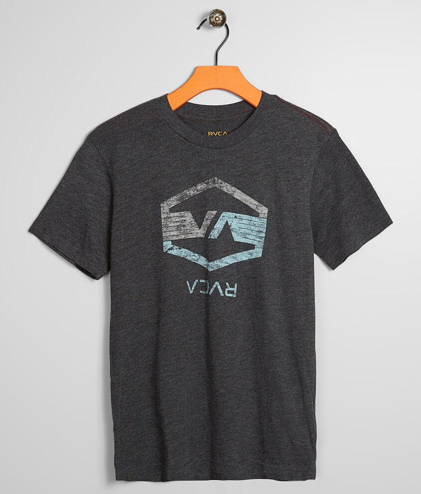 Boys - RVCA Hex Wings T-Shirt front view