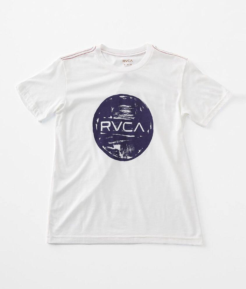 Boys - RVCA Motors Ink T-Shirt front view