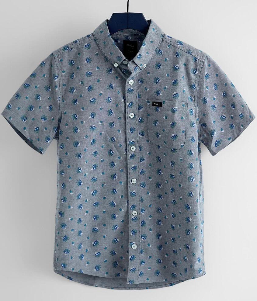 Boys - RVCA That'll Do Shirt front view