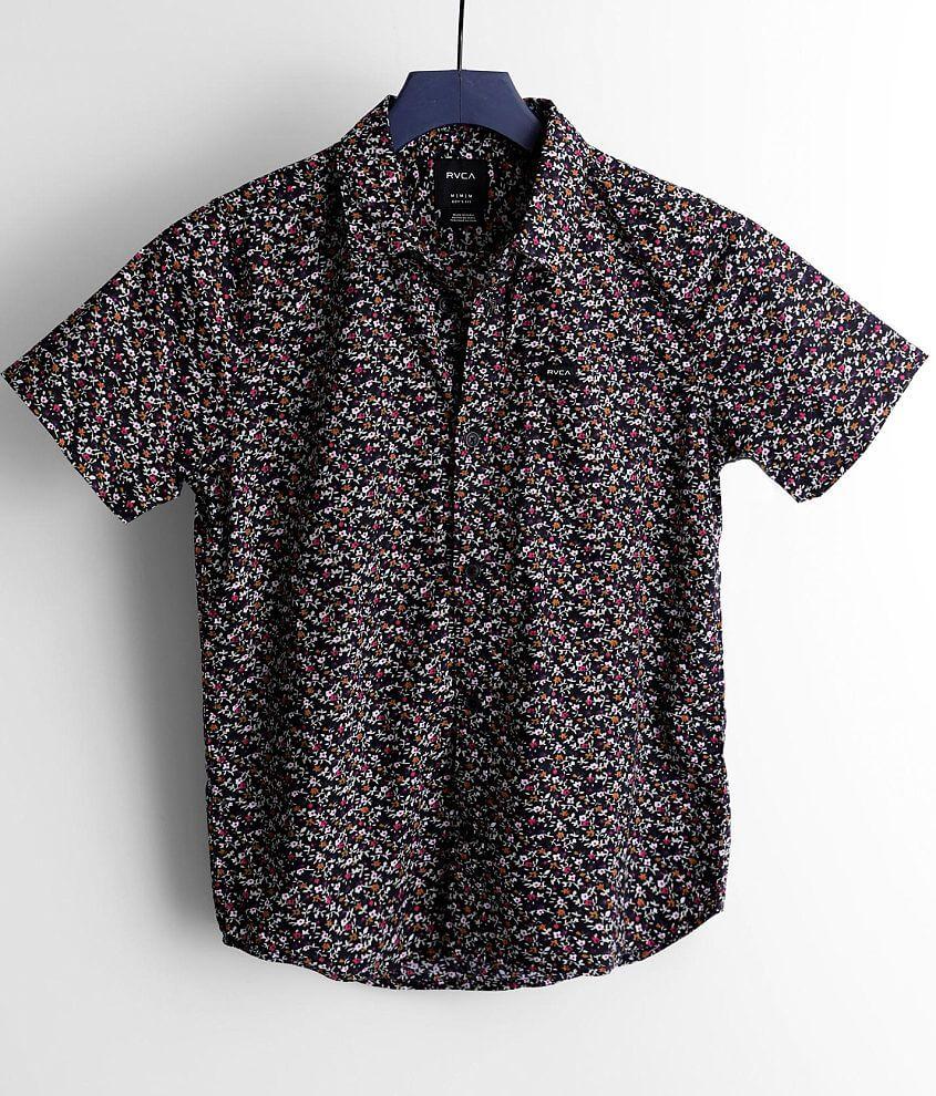 Boys - RVCA Bellflower Shirt front view