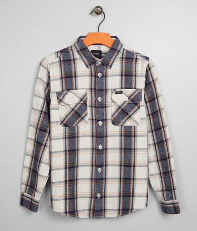 Boys - RVCA That'll Work Flannel Shirt