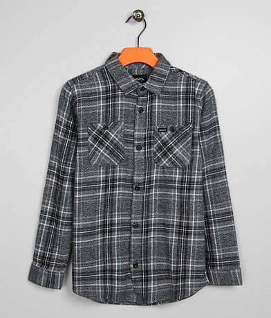 Boys - RVCA Mazzy Flannel Shirt