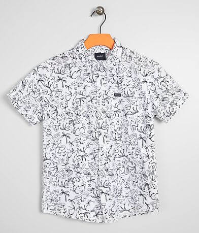 Boys- RVCA Sketch Palms Shirt