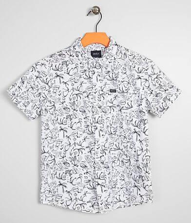 Boys- RVCA Sketchy Palms Shirt