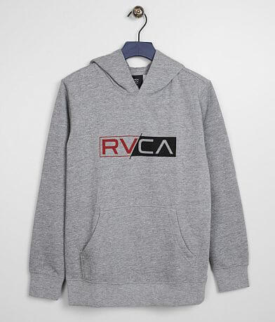 Boys - RVCA Logo Pack Hooded Sweatshirt