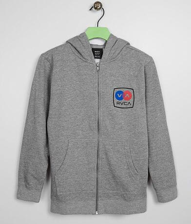 Boys - RVCA Subway Hooded Sweatshirt