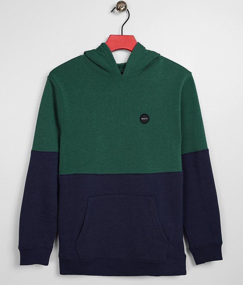 Boys - RVCA Carlisle Hooded Sweatshirt front view