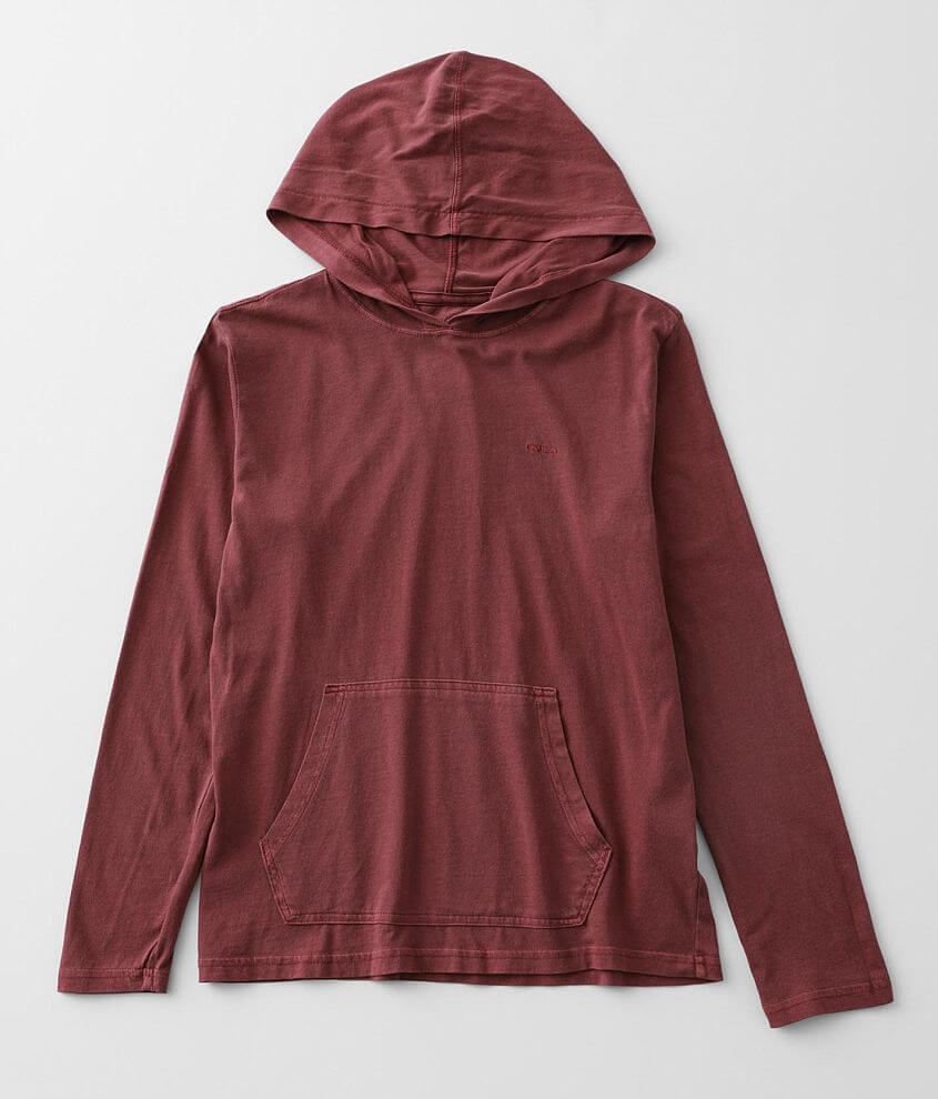 Boys - RVCA Pigment Hoodie front view