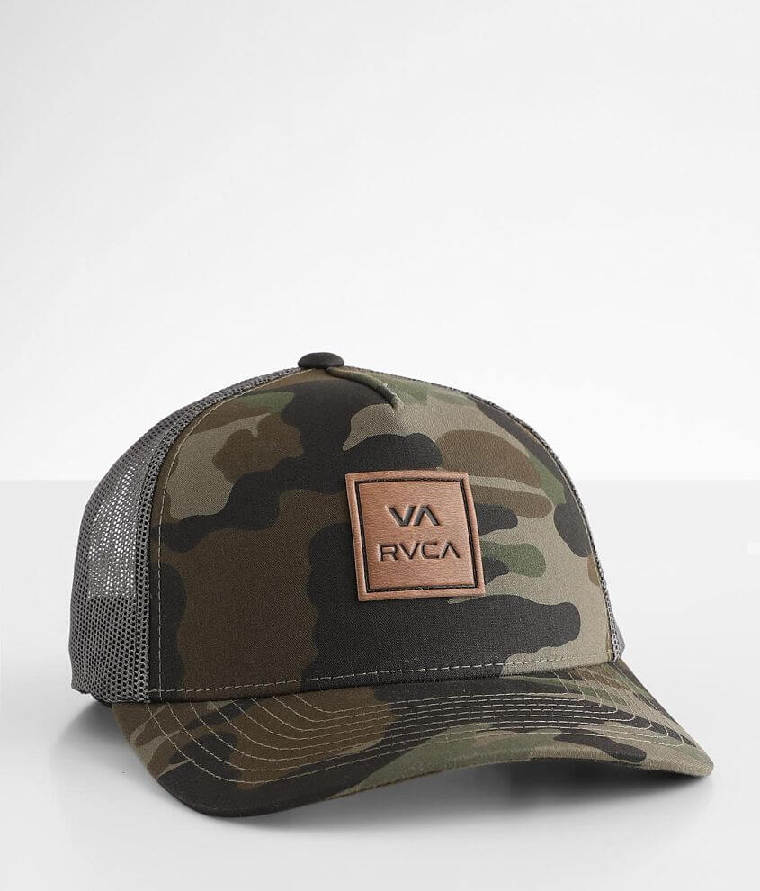 Boys - RVCA All The Way Trucker Hat front view