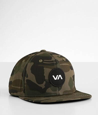 Boys - RVCA VA Patch Camo Hat