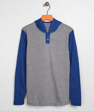 Boys - RVCA Pick Up Henley Hoodie