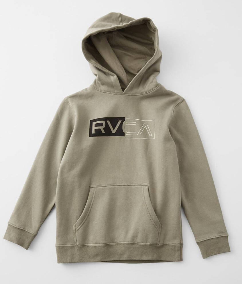 Boys - RVCA Divided Sweatshirt front view